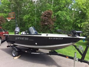 Legend Angler 15' w/Evinrude 40 HP E-Tec, Perfect Package!