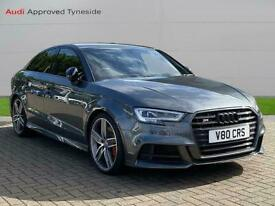 image for 2018 Audi A3 S3 Tfsi Quattro Black Edition 4Dr S Tronic Auto Saloon Petrol Autom