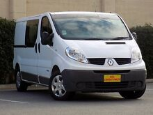 2013 Renault Trafic X83 Phase 3 Low Roof LWB Quickshift White 6 Speed Seq Manual Auto-Clutch Van Blair Athol Port Adelaide Area Preview