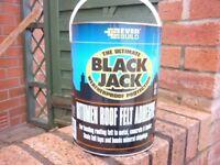 Black Jack 5 ltr Roofing Felt Adhesive and Felt