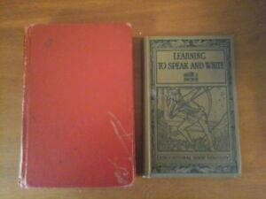 Learning to speak and Write & Famous Canadian Stories 1930's