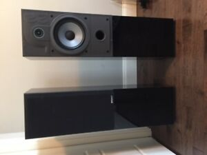 Energy 22.2 speakers gloss black, excellent condition