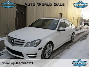2013 Mercedes-Benz C300/4MATIC/NAVIGATION/SUNROOF/LOADED-AWD