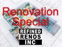 Bathroom & Basement Reno/Remodel/Finish SPECIAL MARKHAM OFFER