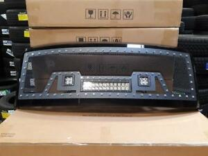 BRAND NEW 2008, 2009 & 2010 FORD F150 BLACK MESH LED GRILL WITH FULL SHELL! - NO CUTTING REQ! - FINANCING AVAILABLE