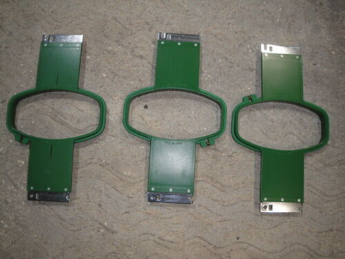 3 Tajima original vintage hoops for commercial embroidery machine