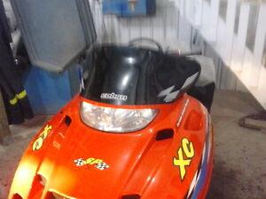 99 to 09 Polaris Edge snowmobile  500-600 without reverse