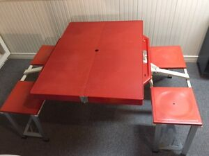 Travelling Folding Table
