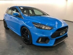 2016 Ford Focus LZ RS AWD Blue Manual Hatchback Sunshine North Brimbank Area Preview