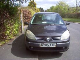 Renault Scenic Expression 16V Low Mileage and MoT tested until August price reduced ,