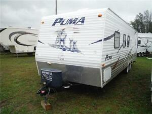 2008 Puma 27FQ Travel Trailer with Bunkbeds- Sleeps up to 9 Stratford Kitchener Area image 2