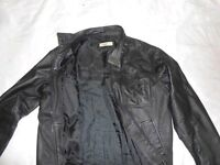 'Moto' Mens Leather Jacket Smart/Casual