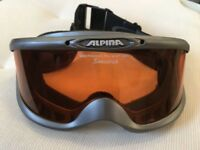 Alpina Spectravision Pro Sport Optic Ski Goggles
