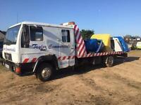 MAN/ ERF L 2000 SLIDING TILT CREW CAB RECOVERY TRUCK 10 TON CAR TRANSPORTER