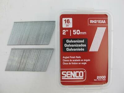 2000 Count Senco Galvanized 2 Finish Brad Nail Gun 16 Ga Nails M001005 New