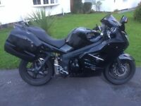 TRIUMPH SPRINT ST 1050 (ABS), 51K MILES, NEW BATTERY, NEW MOT, PANNIERS, HEATED GRIPS