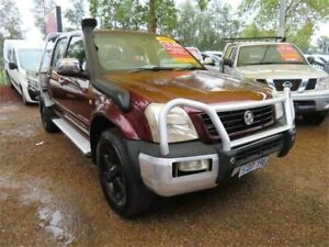 2005 Holden Rodeo RA MY05 LT Crew Cab Maroon 4 Speed Automatic Utility Minchinbury Blacktown Area Preview