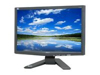 Acer X193Wb Black 19″ LCD Widescreen Monitor with cables   5ms.