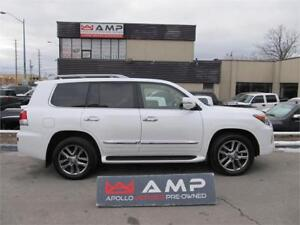 2014 Lexus LX 570 4X4 5.7L NAVI HTD SEATS&ST.WHEEL DVD CLEAN!!
