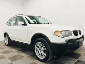 2006 BMW X3 2.5i AWD! Leather Seats! Heated Seats! Clean Title!