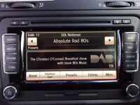 VW RNS 510 Navigation 1TO 035 686 E With DAB Tuner And SSD hard Drive