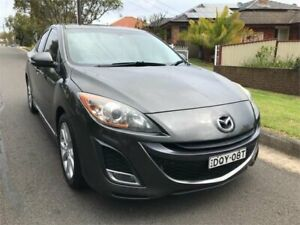 2009 Mazda 3 BL SP25 Grey 6 Speed Manual Sedan Chester Hill Bankstown Area Preview