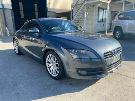 2008 Audi TT 8J MY09 S Tronic Condor Grey 6 Speed Sports Automatic Dual Clutch Coupe Greystanes Parramatta Area Preview