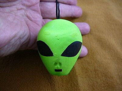 Alien Antenna (#A-10-A  TWO FOR ONE Green ALIEN HEAD ANTENNA BALL loop car Xmas ornament )