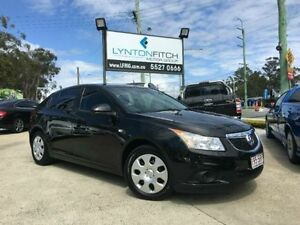 2012 Holden Cruze JH SERIES II MY CD Black Manual Hatchback Southport Gold Coast City Preview