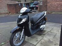Honda SH 125 2006 low miles for sale £1000 no offers.