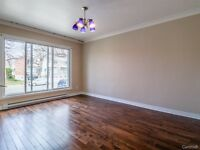 Cartierville New 5 1/2 garage+patio+garden!Available now