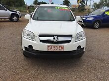2008 Holden Captiva CG MY08 SX AWD White 5 Speed Sports Automatic Wagon Holtze Litchfield Area Preview