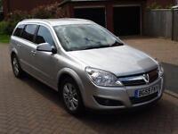 2010 Vauxhall Astra 1.7CDTi 16v Silver Design ecoFLEX 5dr Estate Manual Only 75k