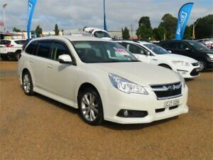 2012 Subaru Liberty B5 MY12 2.5I Premium White Constant Variable Wagon Minchinbury Blacktown Area Preview