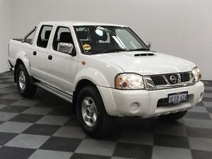 2013 Nissan Navara D22 S5 ST-R White 5 Speed Manual Utility Edgewater Joondalup Area Preview