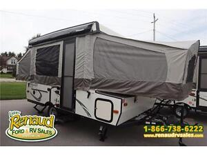NEW 2017 FOREST RIVER FLAGSTAFF 206 ST TENT TRAILER