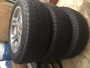 Ultra Bossy Rims with 20inch Pirelle Tires all season for sale
