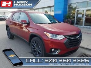 2019 Chevrolet Traverse RS  - Navigation -  Leather Seats