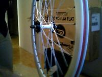 Fixed Gear Bike 50 mm WHEELSET - White