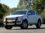 2014 Ford Ranger PX XLT Double Cab White 6 Speed Sports Automatic Utility Enfield Port Adelaide Area Preview