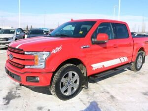 2018 Ford F-150 LARIAT, 501A, 3.5L ECOBOOST, 4X4, SYNC3, NAV, RE
