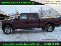 2009 Ford Super Duty F-250 SRW XLT CREW CAB SHORT BOX V10