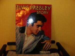 Livre sur Elvis Presley, Elvis Presley Story. Rock Collection