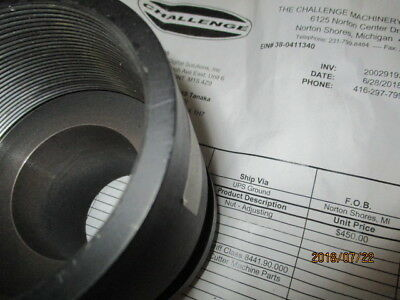 Challenge Ms 5 Paper Drill. New Adjusting Nut Part Number 45131