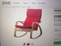 second hand IKEA rocking-chair