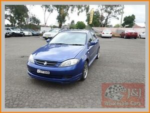 2006 Holden Viva JF Equipe Blue 5 Speed Manual Hatchback Warwick Farm Liverpool Area Preview