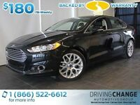 2014 Ford Fusion Titanium-AWD-Heated/Cooled Seats-Nav-Moon Roof