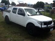 2009 Nissan Navara D40 ST-X White 5 Speed Automatic Utility Hastings Mornington Peninsula Preview