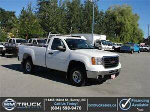 2009 GMC SIERRA 2500HD REGULAR CAB LONG BOX 2WD *LOW LOW KM*