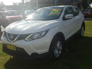 2015 Nissan Qashqai J11 ST (4x2) White Pearl Continuous Variable Wagon Five Dock Canada Bay Area Preview